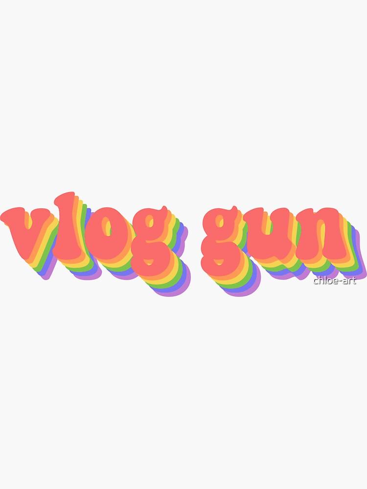 Vlog Gun Text by chloe-art