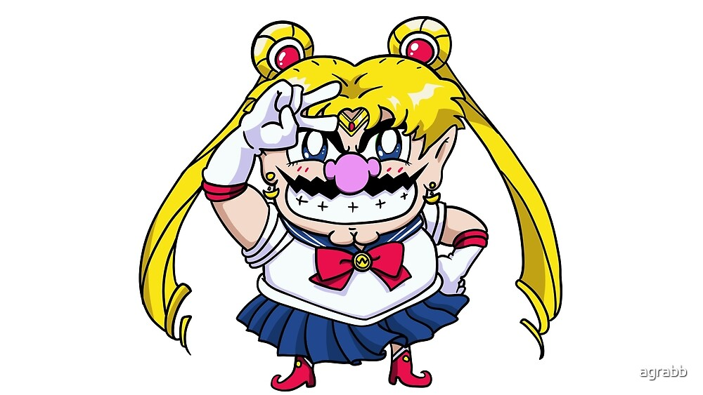Wario Moon by agrabb