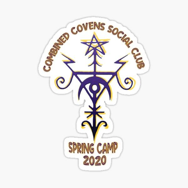 Spring Camp 2020 Sticker