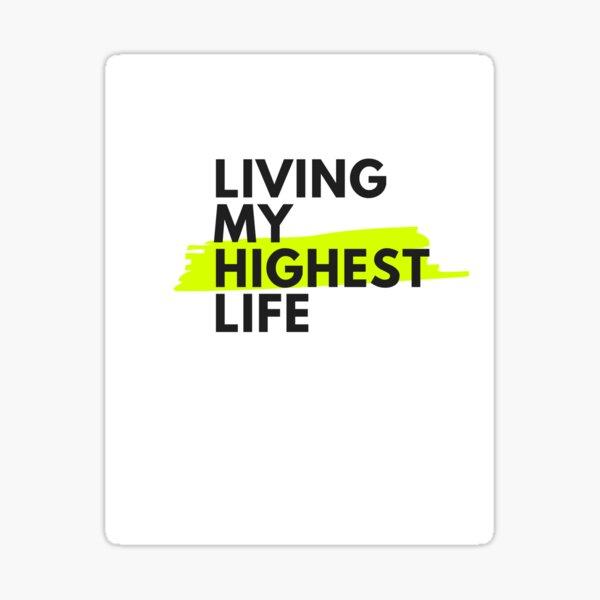 How U Livin? by CannaDoula Sticker
