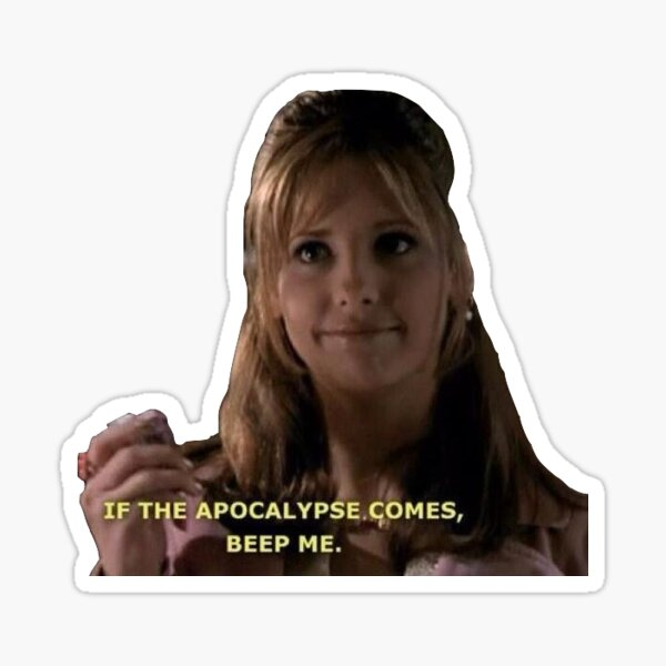 Buffy Beep moi Sticker