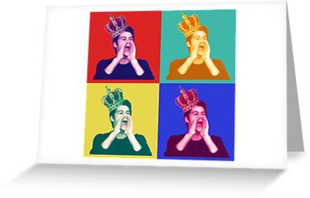 Dylan Obrien Pop Art Greeting Cards By Kuroko1033 Redbubble