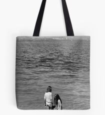 Girls at Sea Tote Bag