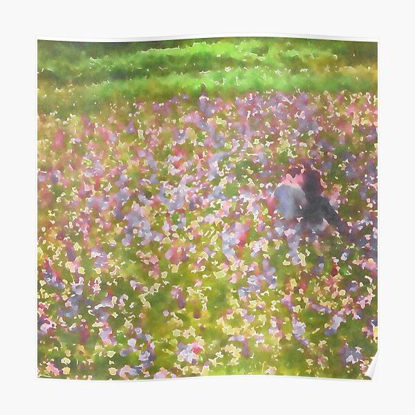 The Meadow Watercolor Poster