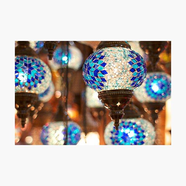 Arabic Lanterns in Istanbul Photographic Print