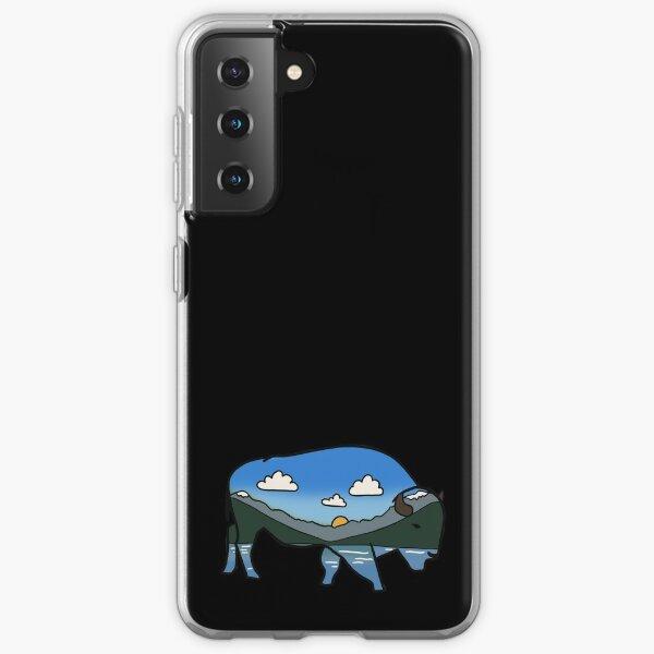 Montana big sky bison Samsung Galaxy Soft Case