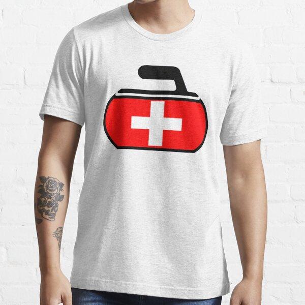 Switzerland Curling Essential T-Shirt