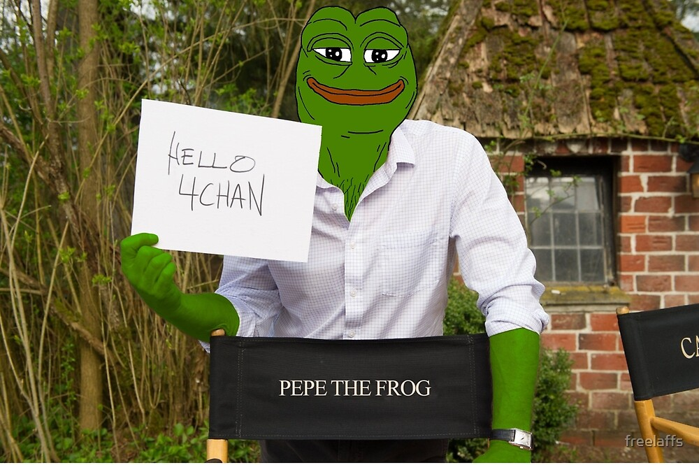Harrison 'Pepe' Ford the Smug Frog - Hello 4chan by freelaffs