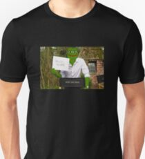 Harrison 'Pepe' Ford the Smug Frog - Hello 4chan Unisex T-Shirt