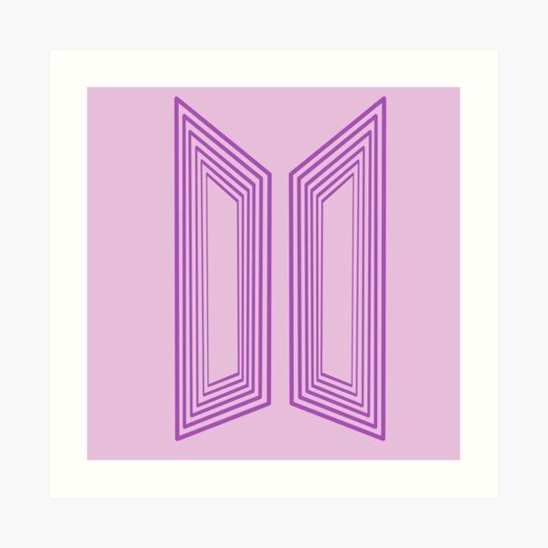 Logotipo de BTS inspirado en la dinamita Lámina artística