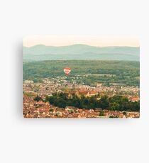 Tübingen Panorama 3 Canvas Print