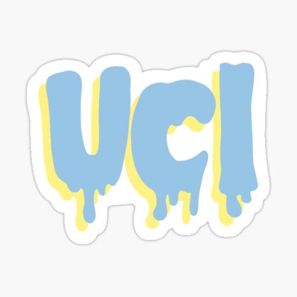 Police UC Irvine Drippy Sticker