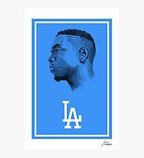 """Lámina fotográfica Kendrick Lamar """"Los Angeles"""""""