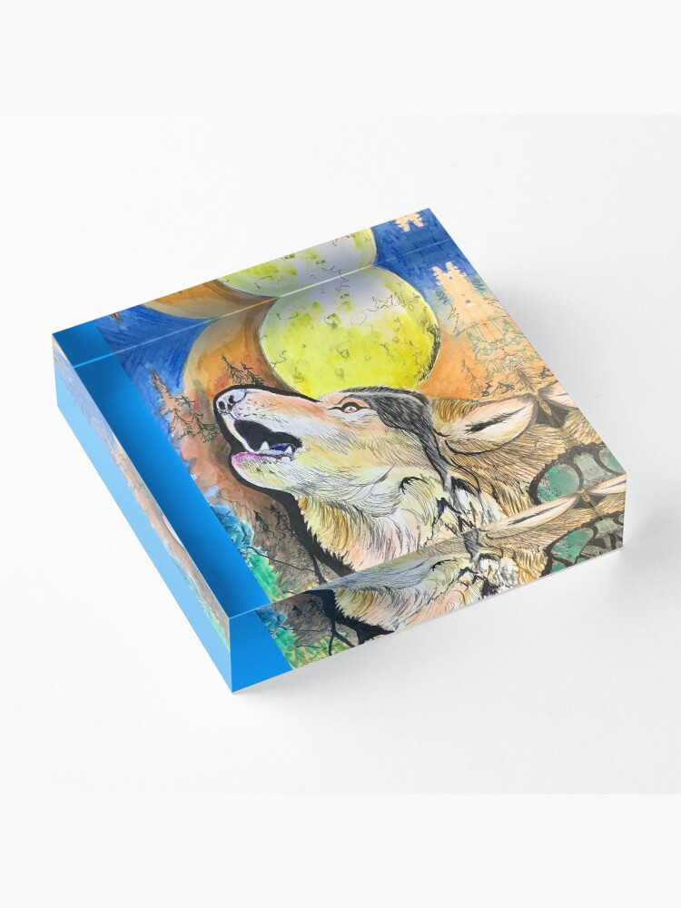 Alternate view of A Voice of Nature  Acrylic Block
