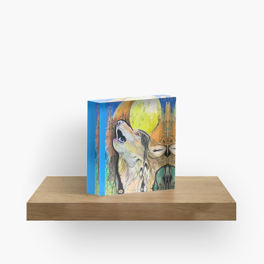 A Voice of Nature  Acrylic Block