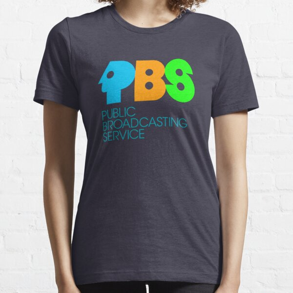 PBS Vintage Logo Essential T-Shirt