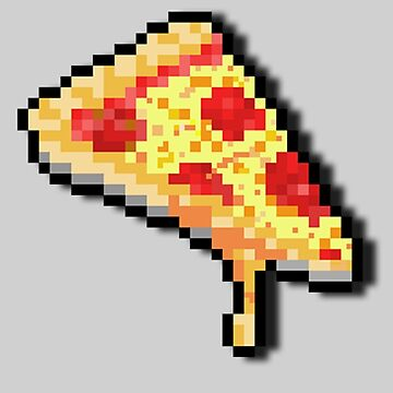 Pixel Pizza. by TheFoxFromHell