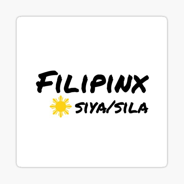 Filipinx siya/sila Sticker