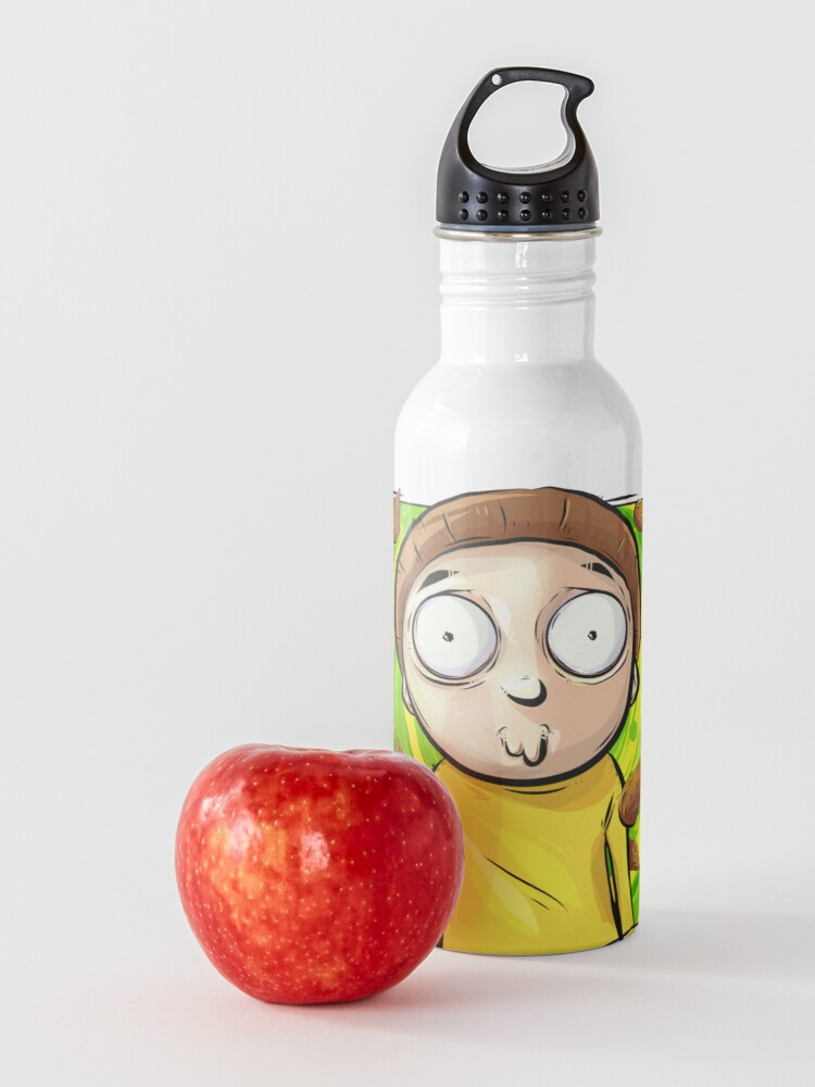 Alternate view of Rick and Morty - Mega Seeds Portal Morty Water Bottle