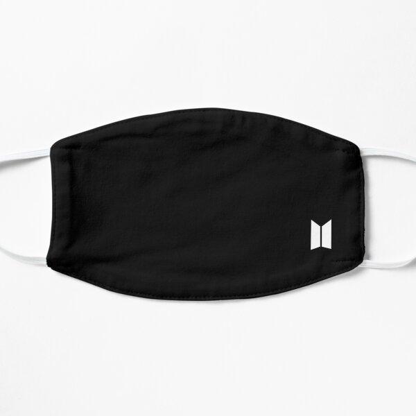 Logotipo de BTS Mascarilla plana