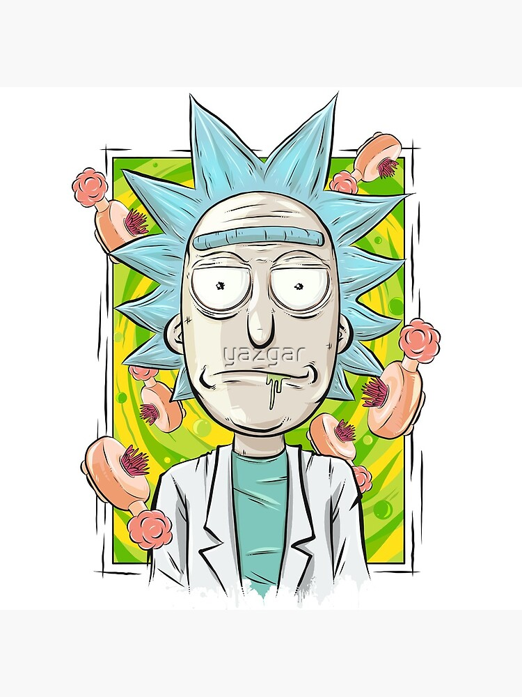 Rick and Morty - Plumbus Portal Rick by yazgar