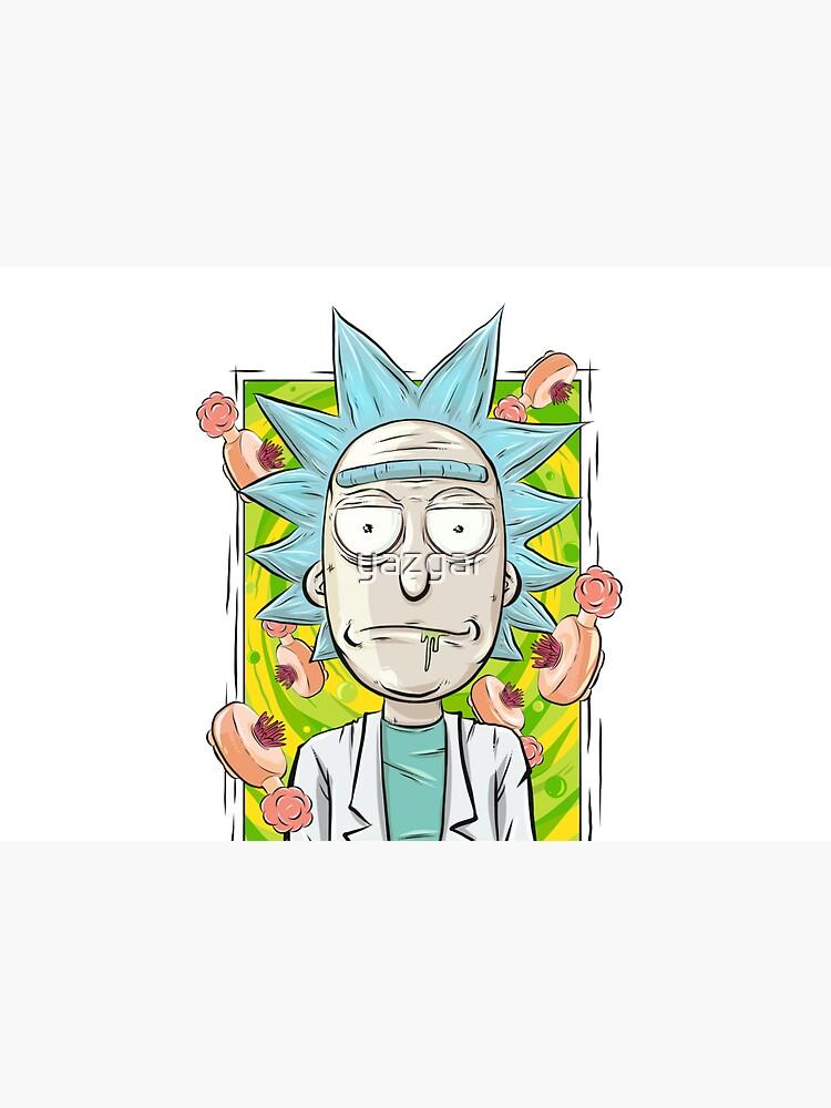 Rick and Morty - Plumbus Portal Rick by yazgar