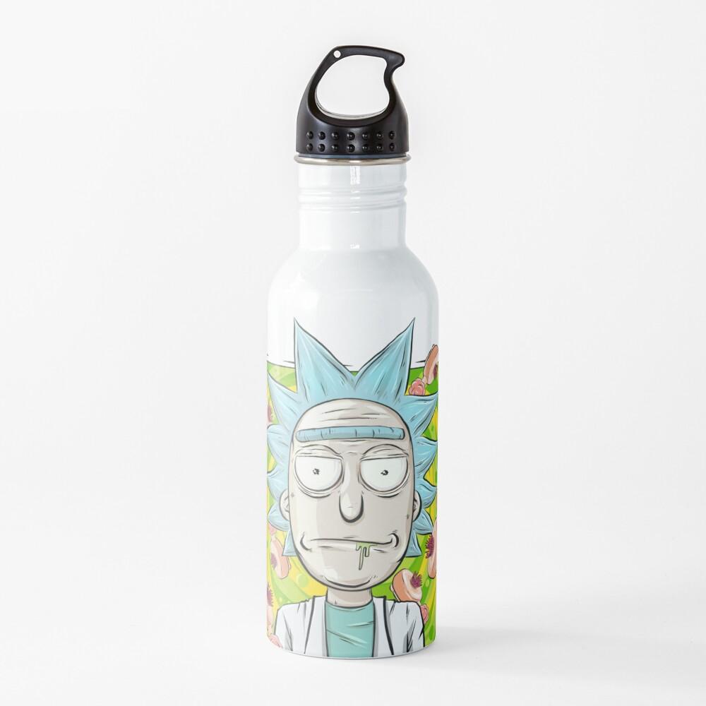 Rick and Morty - Plumbus Portal Rick Water Bottle