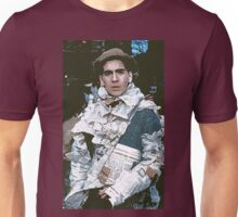 c : Man In newspapers ! collector  1997  1  (c)(h) by Olao-Olavia / Okaio Créations Unisex T-Shirt
