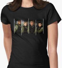 Stargate SG1 - SG1! Womens Fitted T-Shirt