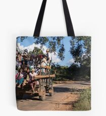 traveling Tote Bag