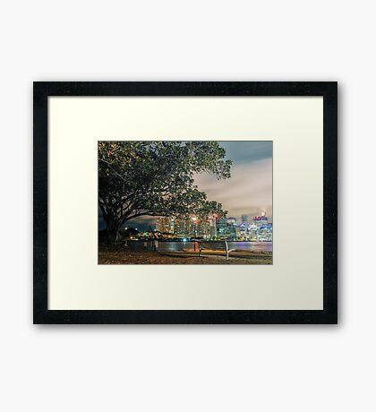 View from Balmain Framed Print