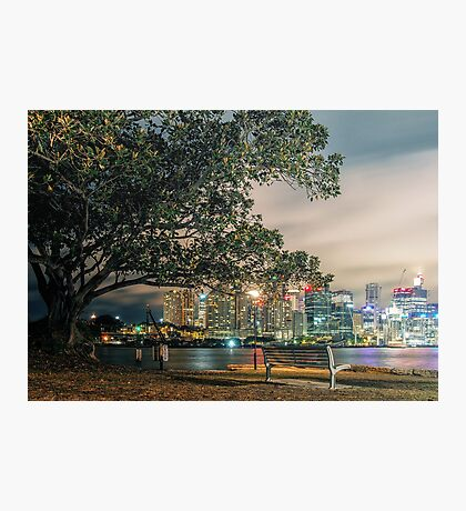 View from Balmain Photographic Print