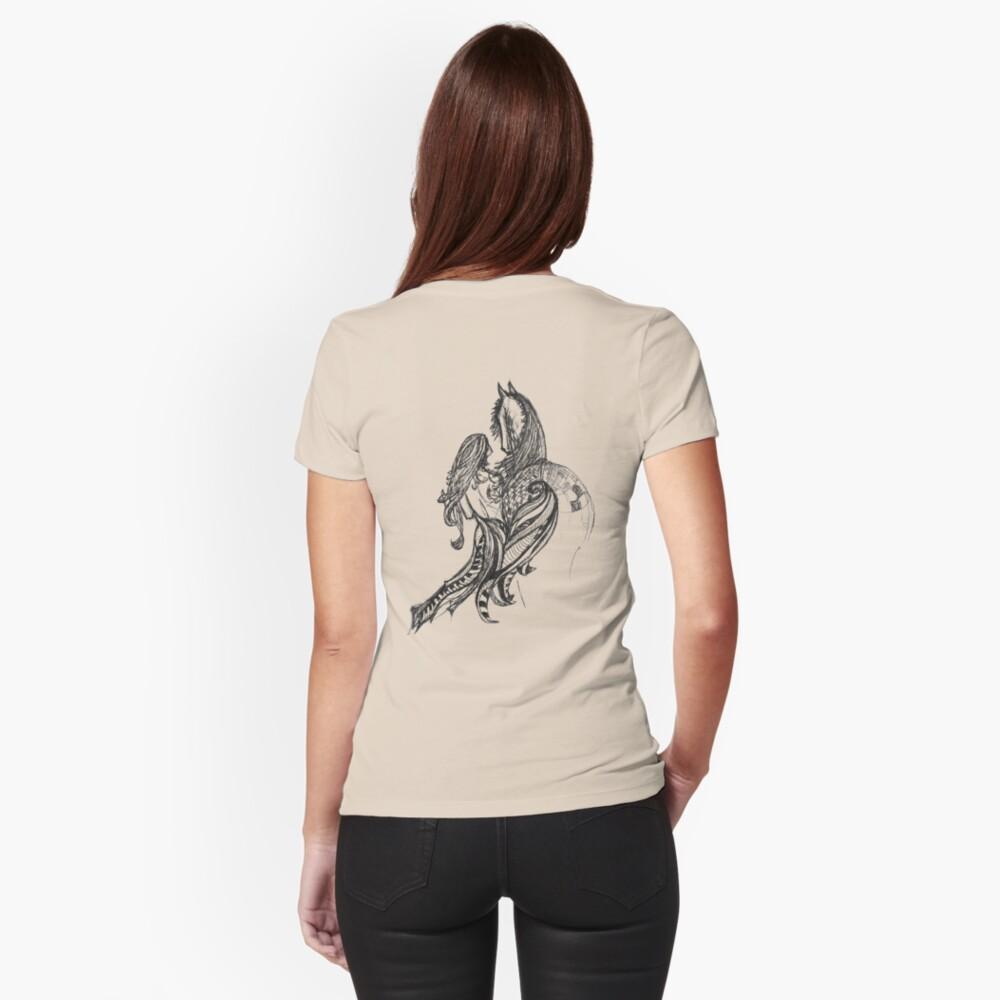LittleTScribble#14 Fitted T-Shirt