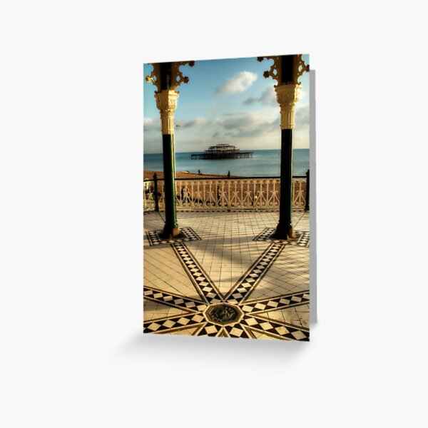 Bandstand Views Greeting Card