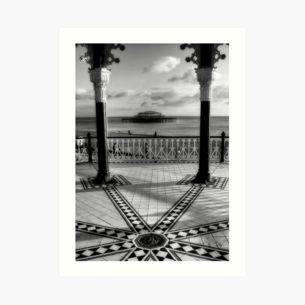 Bandstand Views Art Print