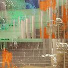 Orange fields r blue  by Stefanie Le Pape