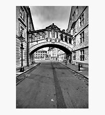 Welcome To Oxford Photographic Print