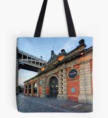 Quayside Fish Market Tote Bag