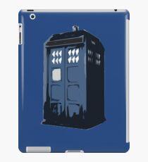 The BLUE Police Box - Tardis iPad Case/Skin