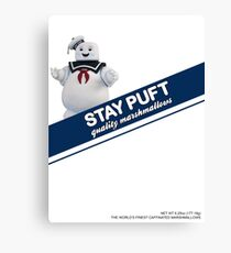 Stay Puft Marshmallow  Canvas Print