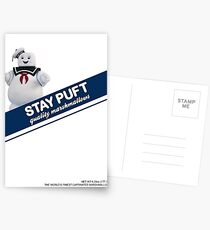 Stay Puft Marshmallow  Postcards