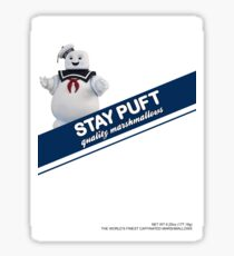 Stay Puft Marshmallow  Sticker