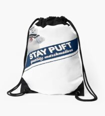 Stay Puft Marshmallow  Drawstring Bag
