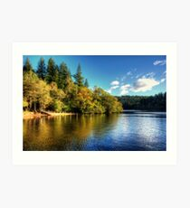 Loch Ard Art Print