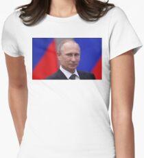 putinieren Tailliertes T-Shirt für Frauen
