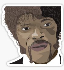 Samuel l Jackson Sticker