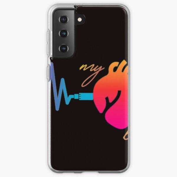 My heart beat t-shirt | heart beat t-shirt proshop Samsung Galaxy Soft Case