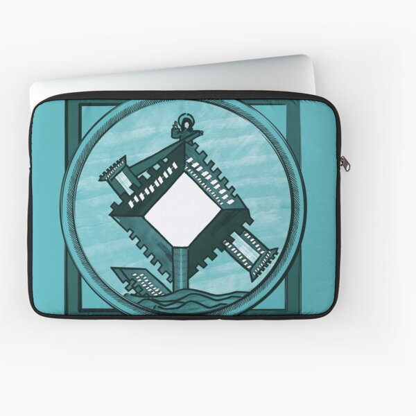 The Heavenly Cities Laptop Sleeve