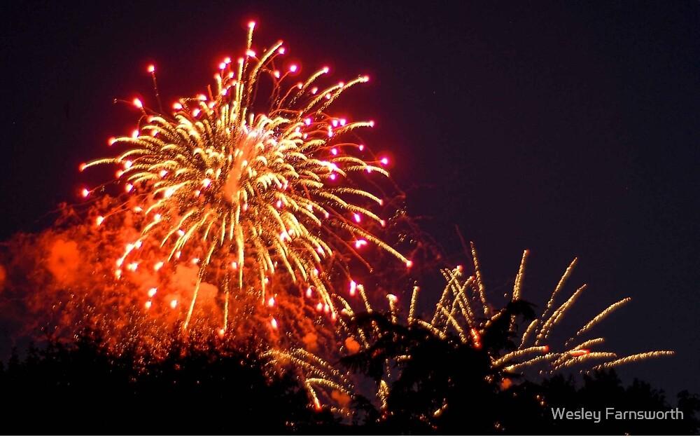 Fireworks 4 by Wesley Farnsworth