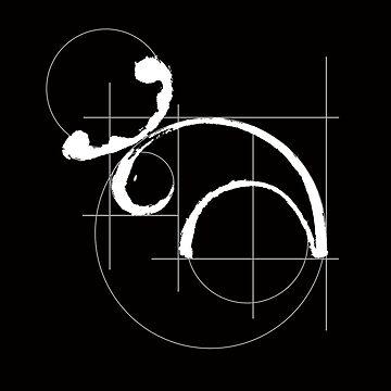 Vitruvian Moose (dark side) by ofmooseandmen